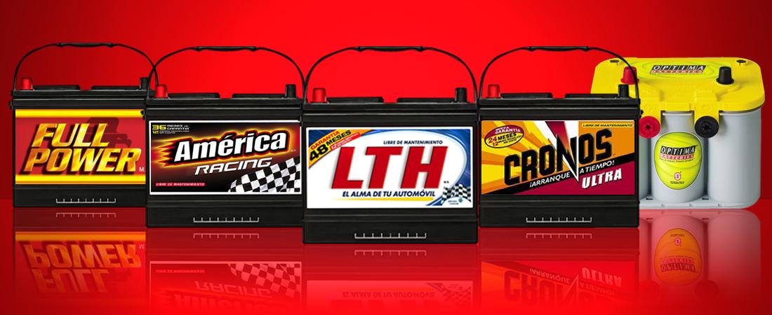 Baterias LTH Americca Full Power Cronos y Optima